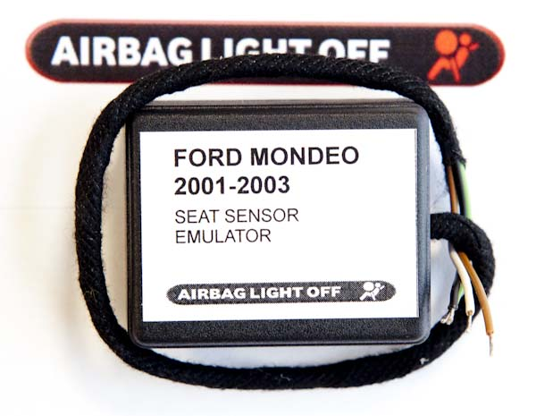 how to change front air bag sensor in a mondeo